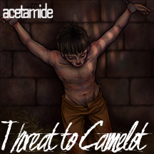 Cover image for Threat to Camelot